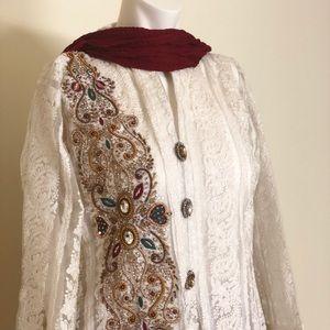 Formal Pakistani/ Indian 3 Piece Suit